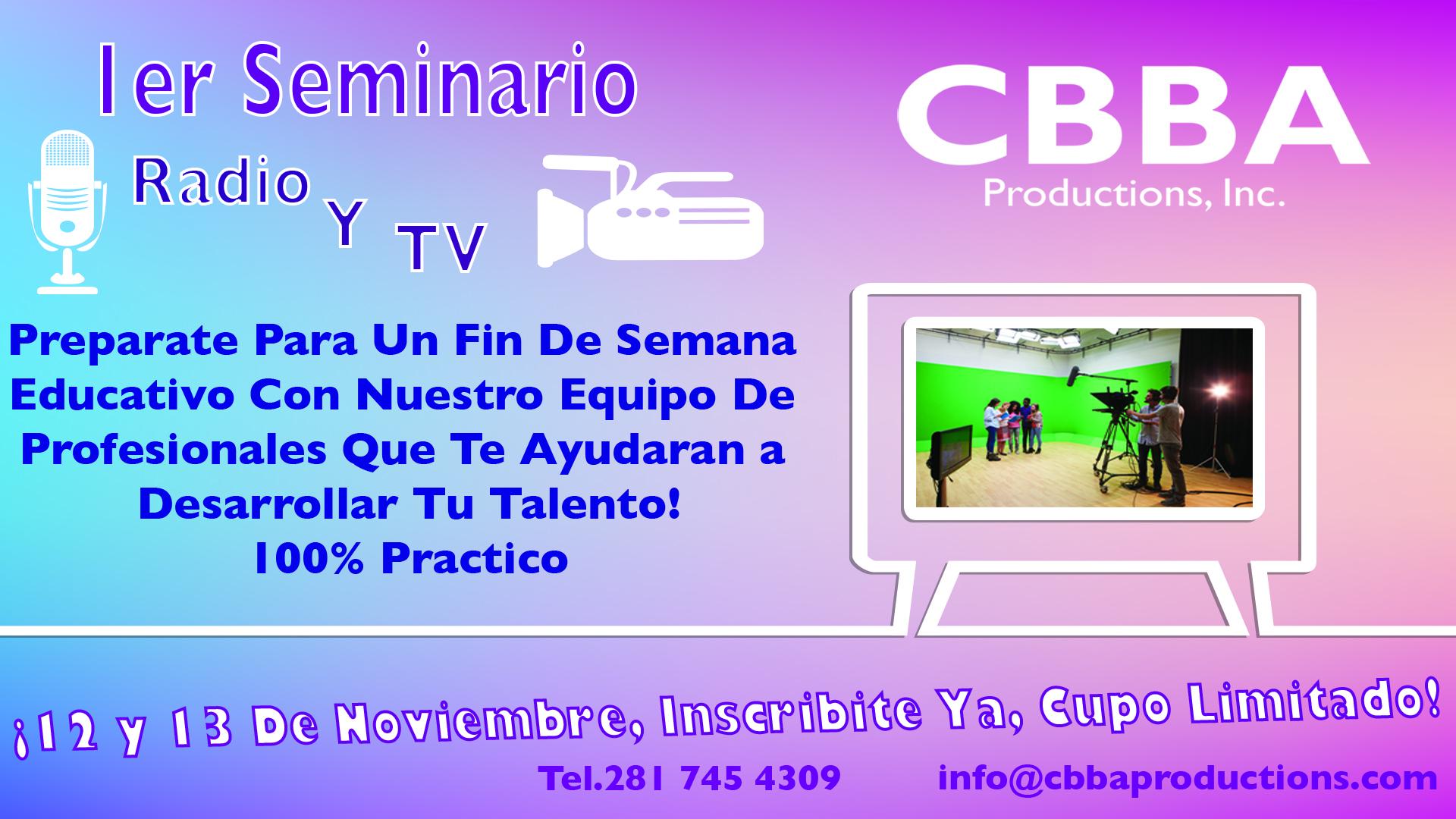 1er Seminario De Radio y TV