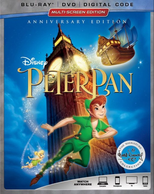 Gánate un DVD de la película Peter Pan